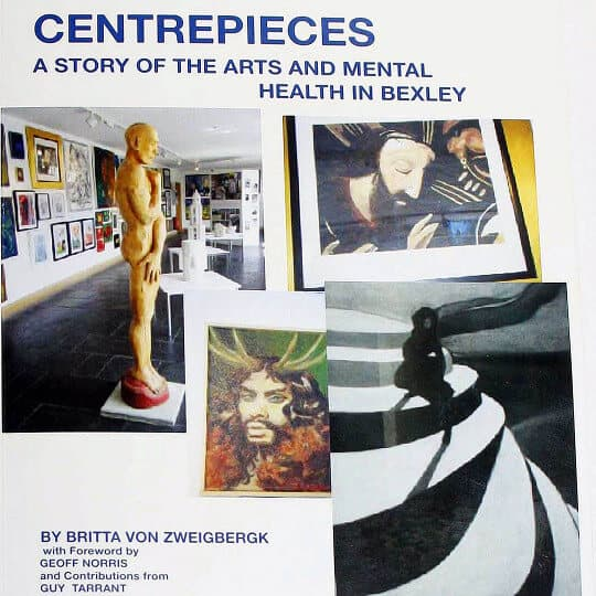 History of the development of the arts in relation to mental health recovery